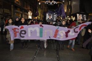 08.03.2011/Feminist Gece Yürüyüşü-Taksim