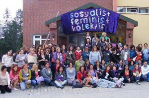 Sosyalist Feminist Kolektif Kampları Toplu Fotoğraflar
